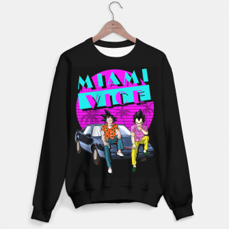 Thumbnail image of Miami Vice Sudadera regular, Live Heroes