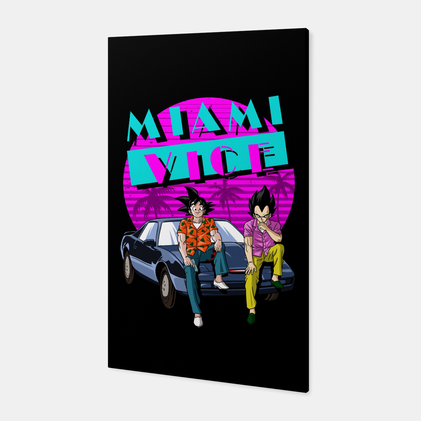 Image of Miami Vice Canvas - Live Heroes