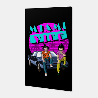 Miniatur Miami Vice Canvas, Live Heroes