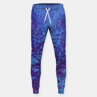 Thumbnail image of Smaller Reality - Teal, Pink, Purple Abstract Sweatpants, Live Heroes