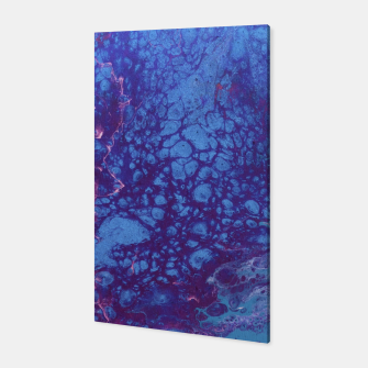 Thumbnail image of Smaller Reality - Teal, Pink, Purple Abstract Canvas, Live Heroes
