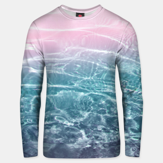 Thumbnail image of Pink Blue Ocean Dream #1 #water #decor #art  Unisex sweatshirt, Live Heroes
