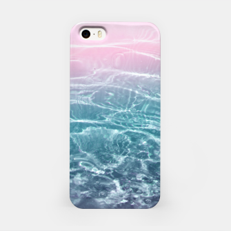 Thumbnail image of Pink Blue Ocean Dream #1 #water #decor #art  iPhone-Hülle, Live Heroes