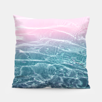Thumbnail image of Pink Blue Ocean Dream #1 #water #decor #art  Kissen, Live Heroes