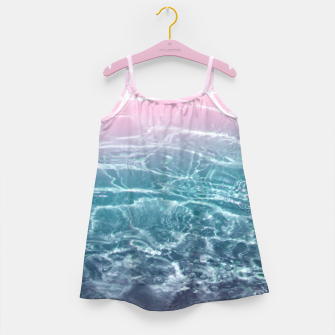 Miniaturka Pink Blue Ocean Dream #1 #water #decor #art  Mädchenkleid, Live Heroes