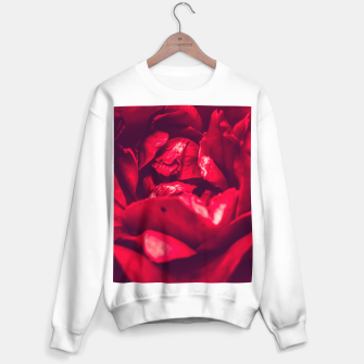 Thumbnail image of red rose Sweater regular, Live Heroes