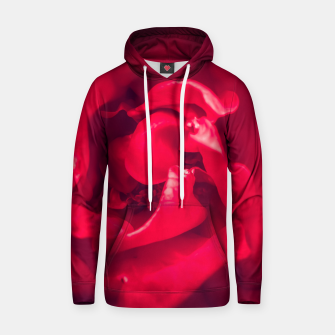 Thumbnail image of red rose Hoodie, Live Heroes