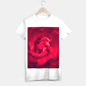 Thumbnail image of red rose T-shirt regular, Live Heroes