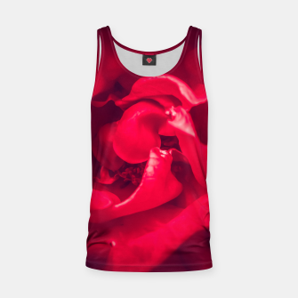 Thumbnail image of red rose Tank Top, Live Heroes
