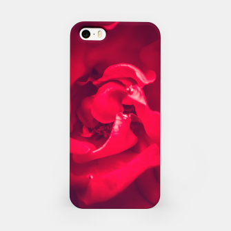 Thumbnail image of red rose iPhone Case, Live Heroes