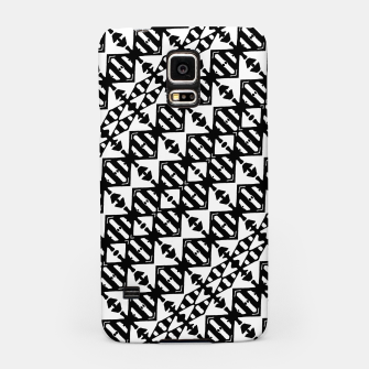 Miniatur Black and White Tribal Samsung Case, Live Heroes