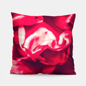 Thumbnail image of red rose Pillow, Live Heroes