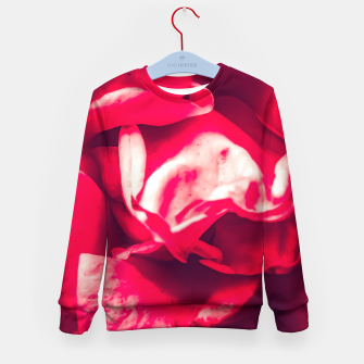 Thumbnail image of red rose Kid's sweater, Live Heroes