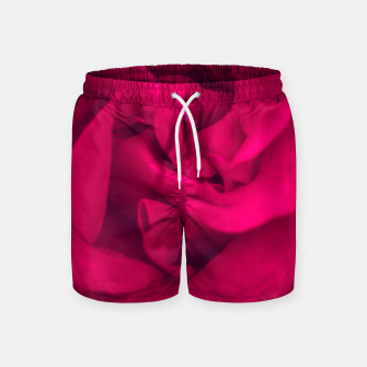Thumbnail image of red rose Swim Shorts, Live Heroes