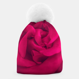Thumbnail image of red rose Beanie, Live Heroes