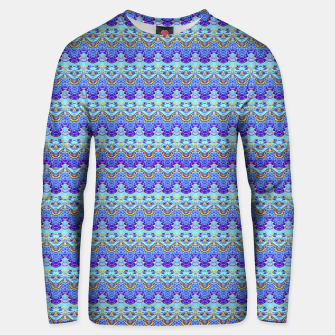Colorful Asian Style Pattern Unisex sweater obraz miniatury