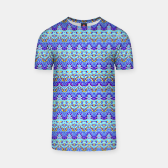 Colorful Asian Style Pattern T-shirt obraz miniatury