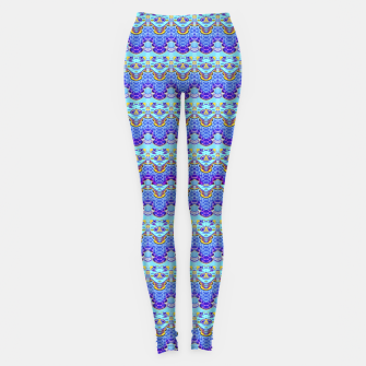 Thumbnail image of Colorful Asian Style Pattern Leggings, Live Heroes