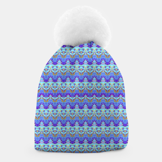 Thumbnail image of Colorful Asian Style Pattern Beanie, Live Heroes
