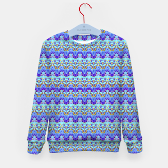 Colorful Asian Style Pattern Kid's sweater obraz miniatury