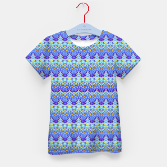 Colorful Asian Style Pattern Kid's t-shirt obraz miniatury