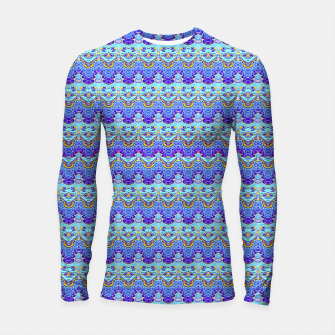 Thumbnail image of Colorful Asian Style Pattern Longsleeve rashguard , Live Heroes