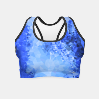 Thumbnail image of Ice Mosaic Crop Top, Live Heroes