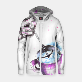 Thumbnail image of anchor Zip up hoodie, Live Heroes