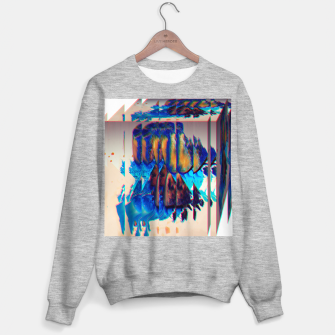 Thumbnail image of Colored Ice Abstract Sweatshirt regulär, Live Heroes