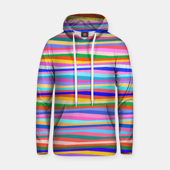 Thumbnail image of Vibrant stripes  Hoodie, Live Heroes