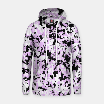 Miniatur Black Pink and White Abstract  Hoodie, Live Heroes