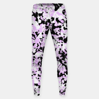 Miniatur Black Pink and White Abstract  Sweatpants, Live Heroes