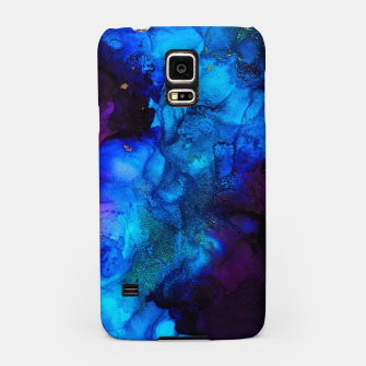 Thumbnail image of The Sorcerer's Shore - Blue + Purple Abstract Samsung Case, Live Heroes