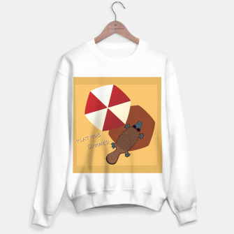 Thumbnail image of PLATYPUS SUMMER Sweater regular, Live Heroes