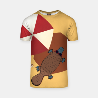 Thumbnail image of PLATYPUS SUMMER T-shirt, Live Heroes