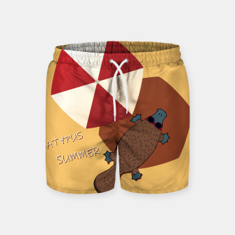 Thumbnail image of PLATYPUS SUMMER Swim Shorts, Live Heroes