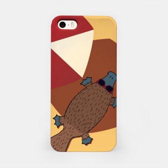 Thumbnail image of PLATYPUS SUMMER iPhone Case, Live Heroes
