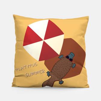 Thumbnail image of PLATYPUS SUMMER Pillow, Live Heroes