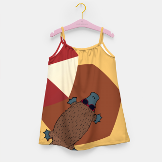 Thumbnail image of PLATYPUS SUMMER Girl's dress, Live Heroes