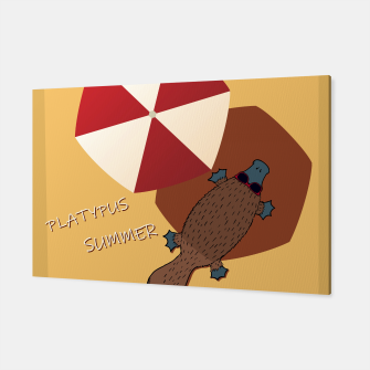 Thumbnail image of PLATYPUS SUMMER Canvas, Live Heroes