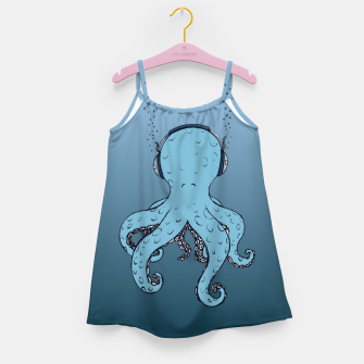 Thumbnail image of KIND OF BLUE Girl's dress, Live Heroes
