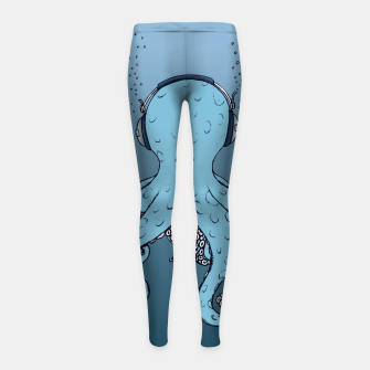 Thumbnail image of KIND OF BLUE Girl's leggings, Live Heroes