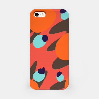 Thumbnail image of Mustard Seed Blue Beams iPhone Case, Live Heroes