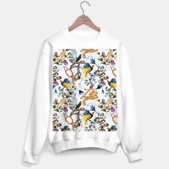 Miniature de image de Exotic birds in chains Sudadera regular, Live Heroes