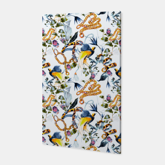 Miniature de image de Exotic birds in chains Canvas, Live Heroes