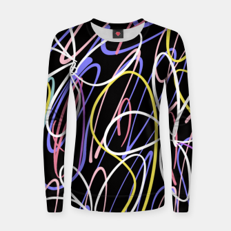 Thumbnail image of Sahara Street Neon Lights Women sweater, Live Heroes