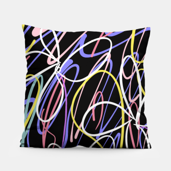 Thumbnail image of Sahara Street Neon Lights Pillow, Live Heroes
