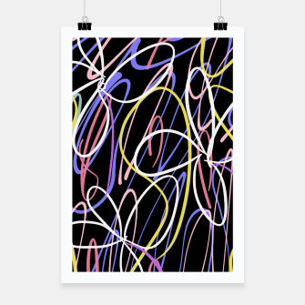 Thumbnail image of Sahara Street Neon Lights Poster, Live Heroes