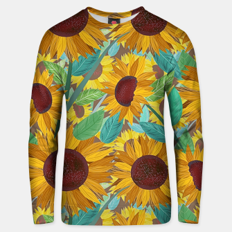 Thumbnail image of Sunflowers Unisex sweater, Live Heroes
