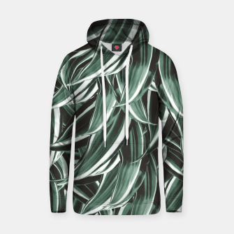 Thumbnail image of Tropical Greenery #1 #green #pattern #decor #art Kapuzenpullover, Live Heroes